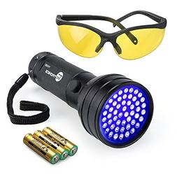 TaoTronics Black Light, 51 LEDs UV Blacklight Flashlights De