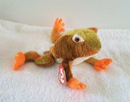 Vntg Ty Beanie Baby 2000 Prince The Frog Rare Retired Plush