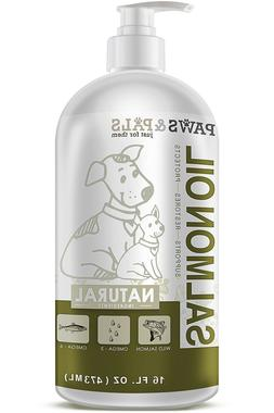 Paws & Pals Wild Alaskan Salmon Fish Oil Omega 3 & 6 for Dog