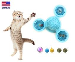 windmill cat toys fidget spinner for cats