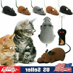 Wireless Remote Control RC Electronic Rat Mouse Mice Toy for