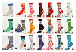 Blue Q Women's Novelty Crew Socks Size 5-10 Quirky Funky Quo